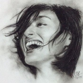Pencil drawing of Jun Hasegawa by chaseroflight