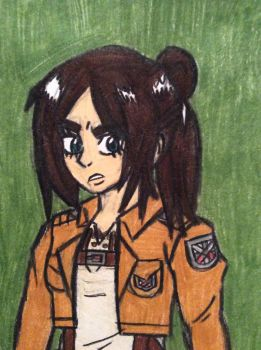 Fem!Eren by angry-toon-link