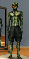 Drell skin Mod/Thane Krios for Sims 3 by nmf8977