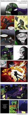 Donatello VS Casey Jones PART 5 by TurboTails06