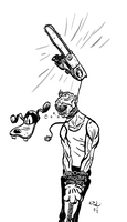chainsaw strangle by erspears