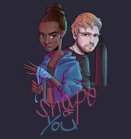 Shape of you - Ed Sheeran by AkiTheBonez