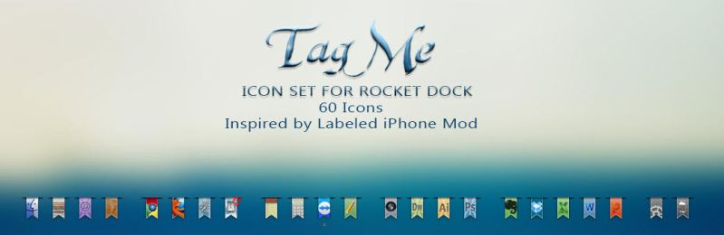 :: Tag Me Icon Set :: by Sympli-Me