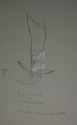 Mock Paw Boot, Small Paw Bow, and 15 arrows by Xein000
