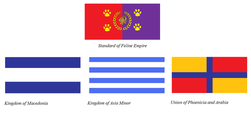 Flags of Feline Empire part 1 by KingSejong