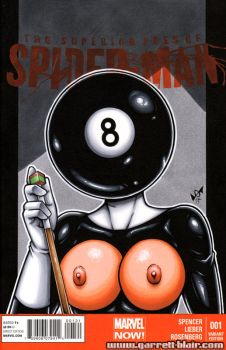 Naughty 8-Ball bust cover by gb2k