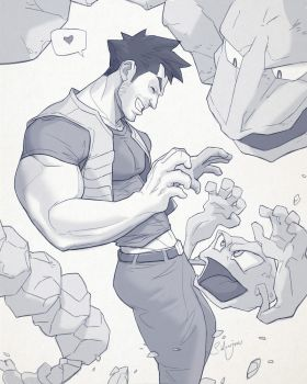 Hunk of the week #14 by silverjow