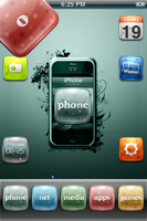 o theme for iPhone by version3
