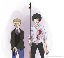 bbc Sherlock: Well that was tedious-- by Minuu-chan
