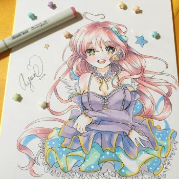 [SHIKISHI BOARD] Copic Original  -Auction Closed- by Ayasal