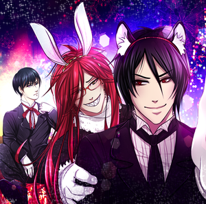 christmasnew years contest winnershi c founder here to announce the results for our contest 1st place alen as - Black Butler Christmas
