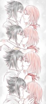 SasuSaku: Sketch by yulia-hime