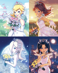 Wedding Mario Girls (10 27 2017) by theskywaker