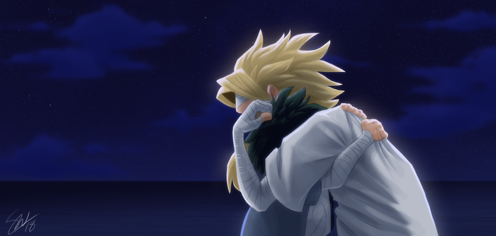 Boku no Hero Academia - I know you're both crying by TC-96