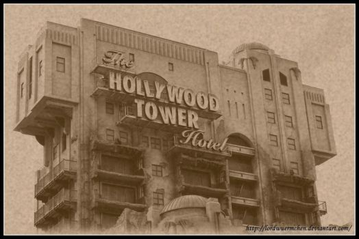 Disney Land: Tower of Terror by AF--Photography