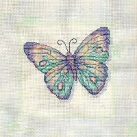 Pastel Butterfly by pinkythepink