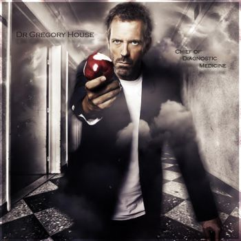Gregory House by Shiny-Mel