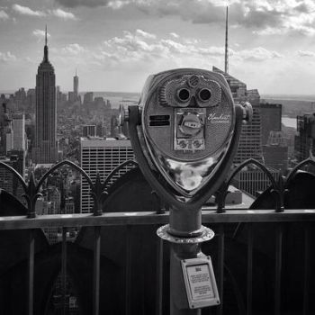 Top of the rock... by BlankestCanvas