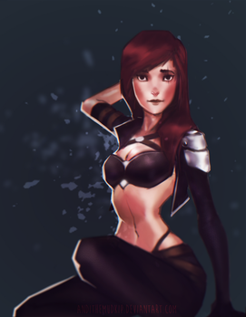 League of Legends - Katarina by AndiTheMudkip