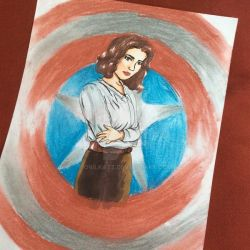 Agent Peggy Carter by owlkatz