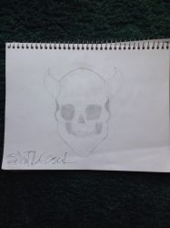 First Skull  by johnp580