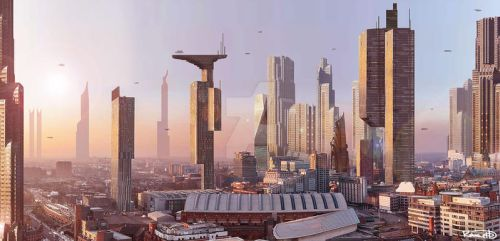 Manchester Future by halfpennyro04