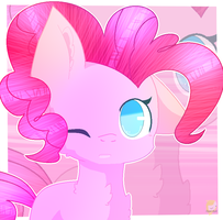 Pinkie Pie [commission] by AngelLightYT