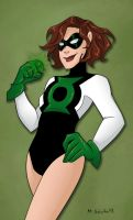 OC Green Lantern by msciuto