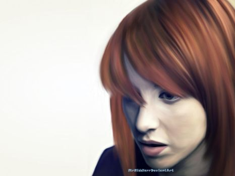 Hayley Williams Paramore by MrRiddlerr