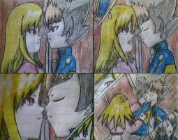 Almost kiss by Cilcil-TheArtistXD