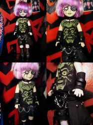 Handmade Living Dead Doll outfit #7 Mars Attacks by neoshiki