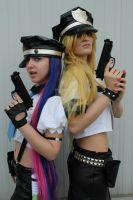 Panty Stocking police cosplay2 by kira86