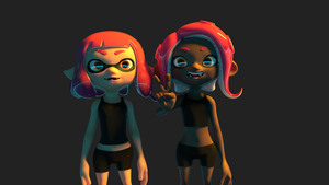 [Blender] Woomy and Veemo by JonathanFess