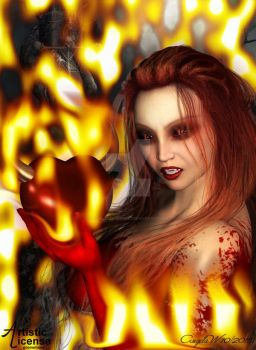 Welcome to hell by angelasposerwelt