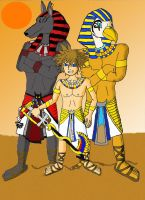 Egypt world and allies. by Phantomkels