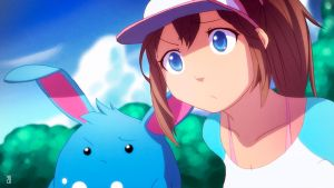 Pokemon Black 2 White 2 - Aryll and Azumarill