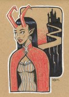 The Horned Queen by SuperEdco