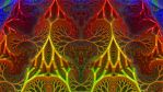 Fractal Net of Jewels by Trip-Artist