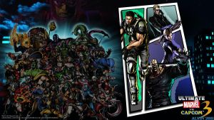 UMvC3 PS3 Wallpaper 2 by TheALVINtaker