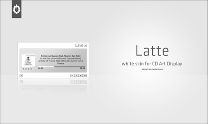 Latte for CD Art Display by odioART