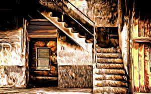 Stairway X by montag451