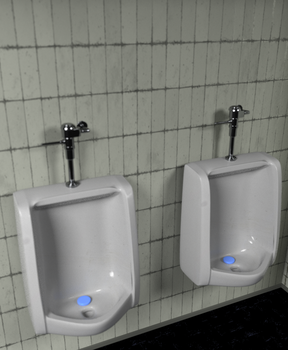 Urinal by The-3DArtist
