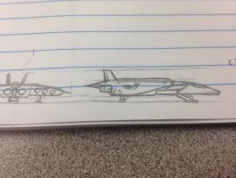 Best Notebook Sketch I've ever made by The-Combine-Engineer