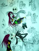 The Haunting Life of Jack and Sally by InkArtWriter