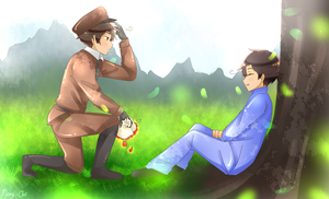 .:Close Your Eyes:. ( HETALIA OCs ) by Meng-Chii