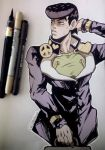 JJBA - Pouty Boy (Traditional) by 7Repose
