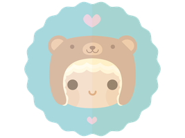 Kawaii Bear Hat by apparate