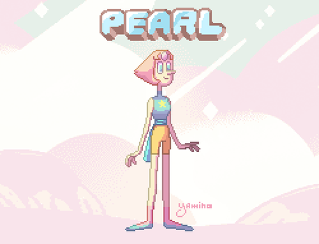 Pixel Pearl by Yamino