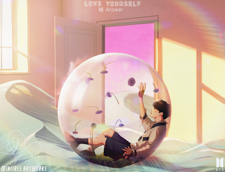 J-hope | BTS LY 'Answer' Concept Photo 'E' ver by Iku-Aldena