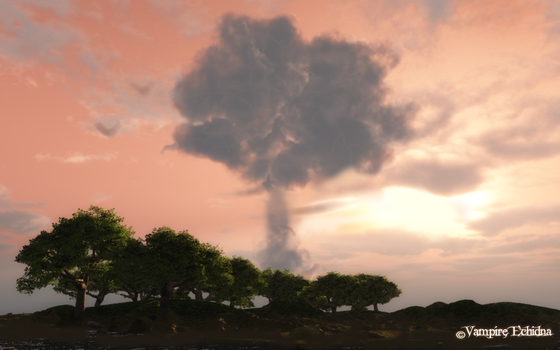 The Tree Cloud by Vampire-Echidna